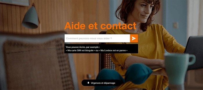 Support client Orange