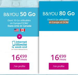 Bouygues 50Go et 80Go