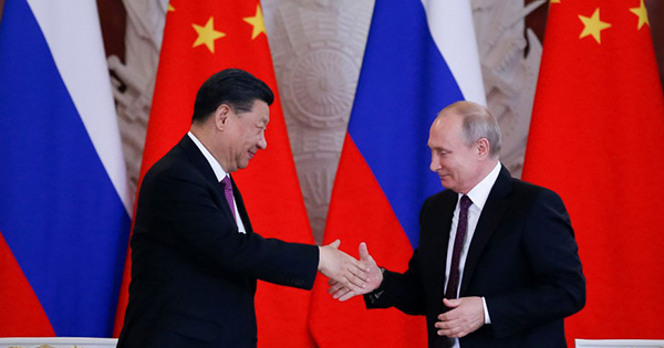 Huawei Russie Chine