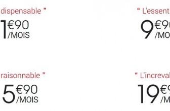 Quels sont les tarifs pratiqués par Syma Mobile ?